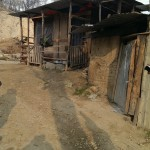 Flood damaged house in Pampore, Kashmir  and rebuilding supported by RRAI
