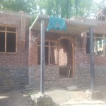RRAI and Revive Kashmir with CHINAR Kashmir built this house Misra Bano